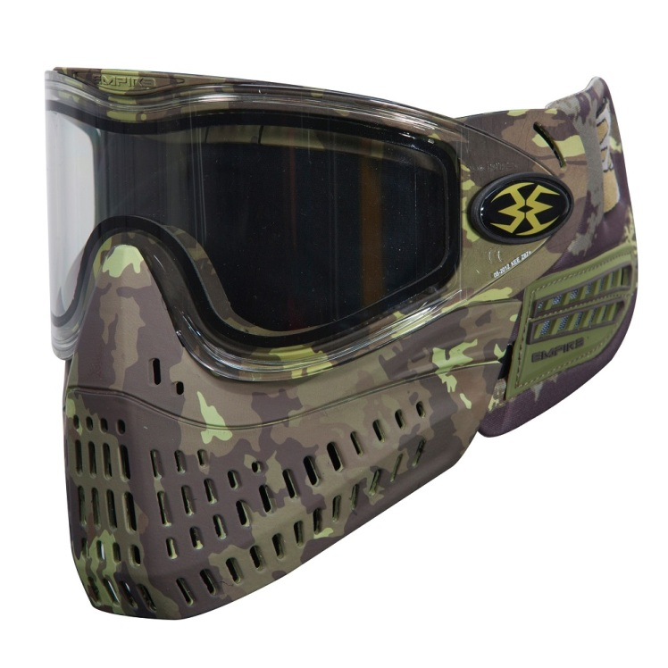 Full face protection - Paintball style