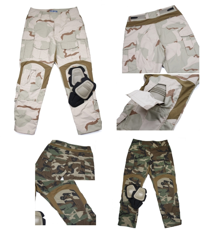 TMC 3D DCU and M81 (Woodland) Pants